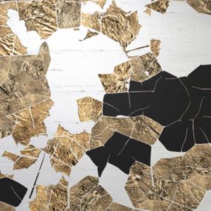 Meystyle Cracked Mosaic behang