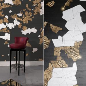 Meystyle Dark Mosaic behang