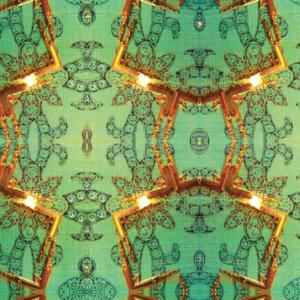 Meystyle Emerald behang