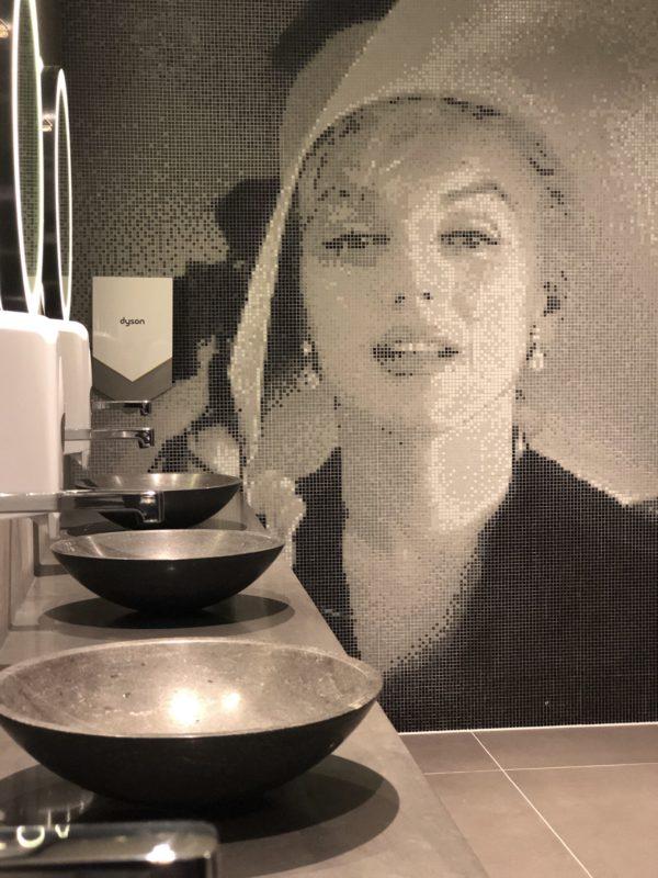 Marilyn Monroe Capiece mozaïek