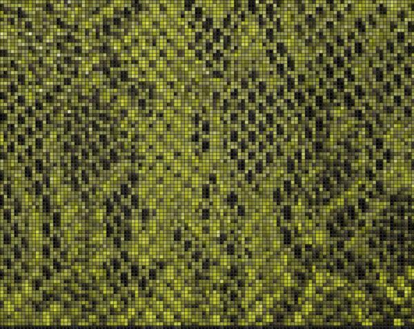 Capiece Mozaïek Wand Green Cobra