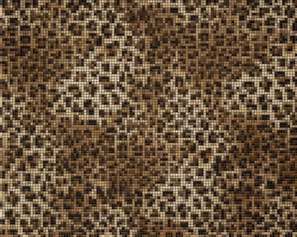 Capiece Mozaïek Wand Leopard