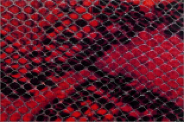 Capiece Mozaïek Wand Red Cobra