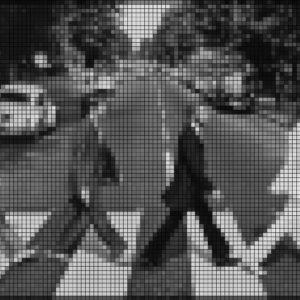 Capiece Mozaïek Wand Beatles