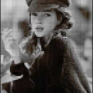 Capiece Mozaïek Wand Kate Moss