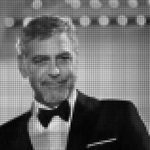 Capiece Mozaïek Wand George Clooney
