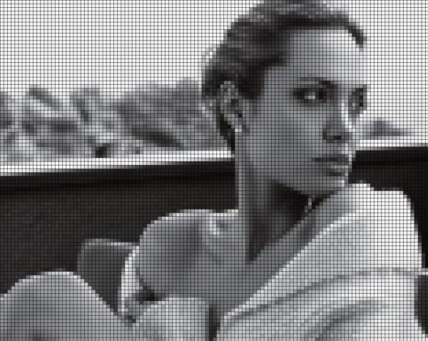 Capiece Mozaïek Wand Angelina Jolie
