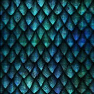 Capiece Mozaïek Wand Peacock